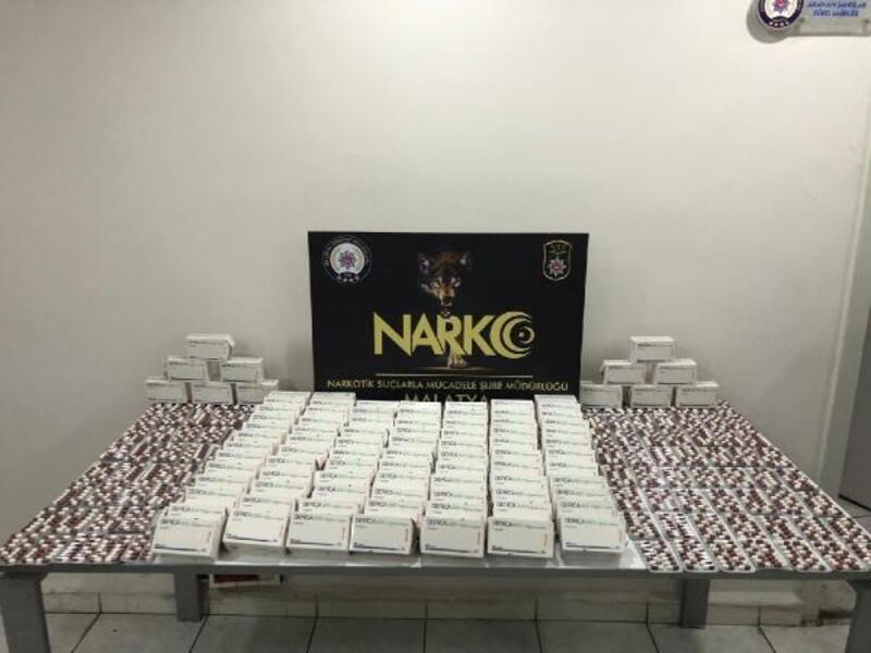 Malatya'da uyuşturucu operasyonuna 2 tutuklama