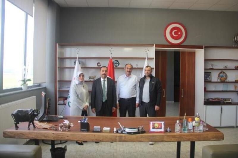 İl Tarım ve Orman Müdürü Aygül, Marmara'nın en büyük et kombinasını gezdi