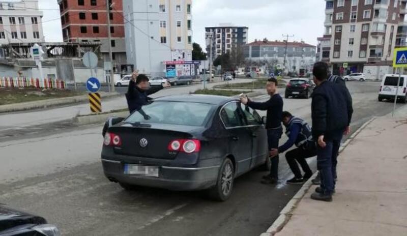 Samsun'da asayiş uygulaması yapıldı