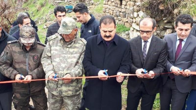 Çukurca'da restore edilen 400 yıllık taş değirmen hizmete açıldı