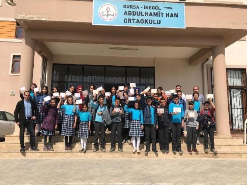 Öğrenciler mektup gönderdikleri askerlerle telekonferans aracılığı ile görüştü