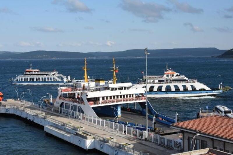 Gökçeada ve Bozcaada'ya feribot seferleri iptal