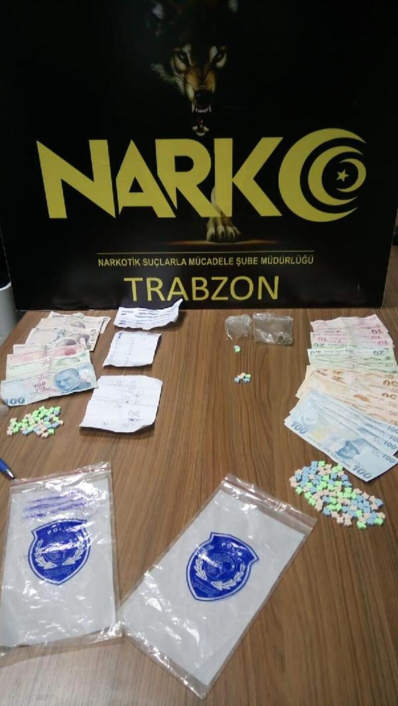 Trabzon'da uyuşturucu operasyonu: 2 gözaltı