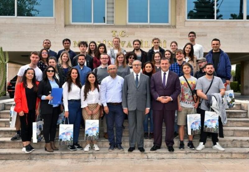 12 ülkenin gençleri Mersin'de