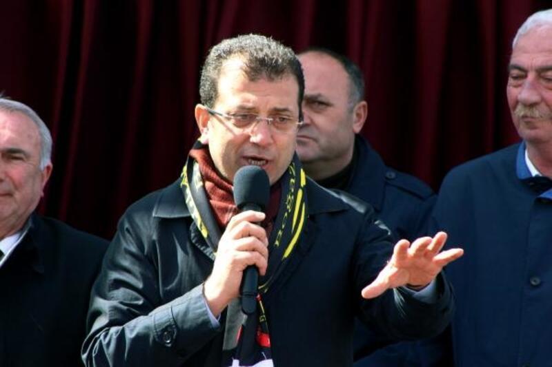Ekrem İmamoğlu seçim çalışmalarına Beykoz'da devam ediyor
