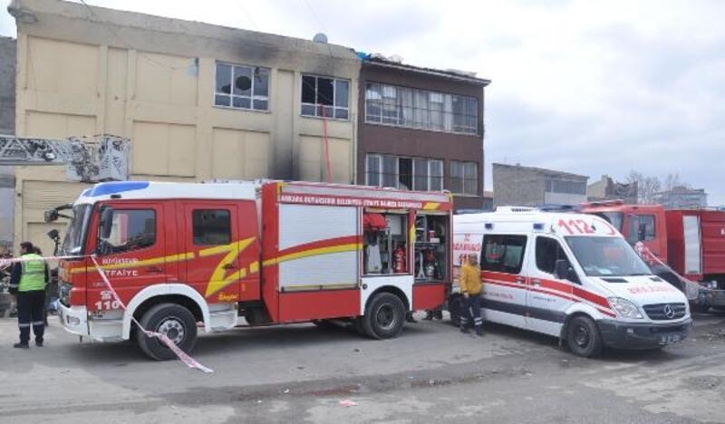 Ankara'da kağıt toplayıcıların kaldığı binada yangın faciası: 5 ölü, 11 yaralı