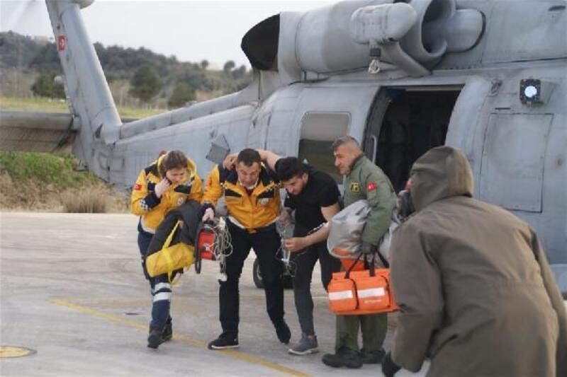 Deniz Kuvvetleri'ninhelikopteri, Emre için havalandı