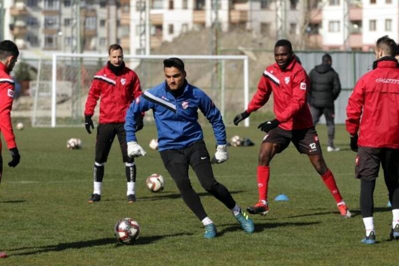 Boluspor'da Gençlerbirliği maçının hazırlıkları sürüyor