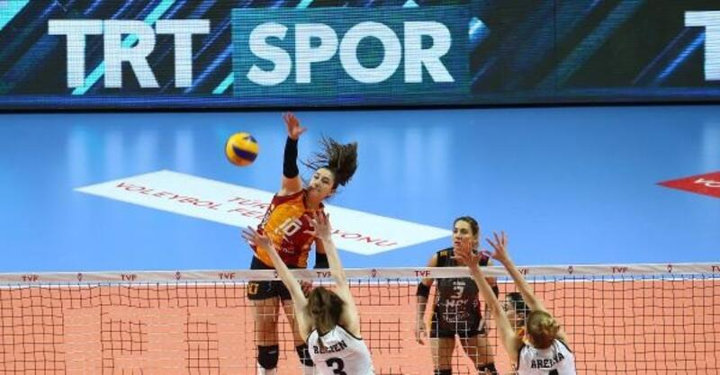 Galatasaray HDI Sigorta yarı finale yükseldi