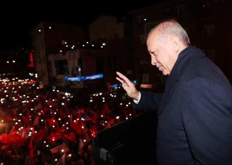 Cumhurbaşkanı Erdoğan Sarıyer'de konuştu