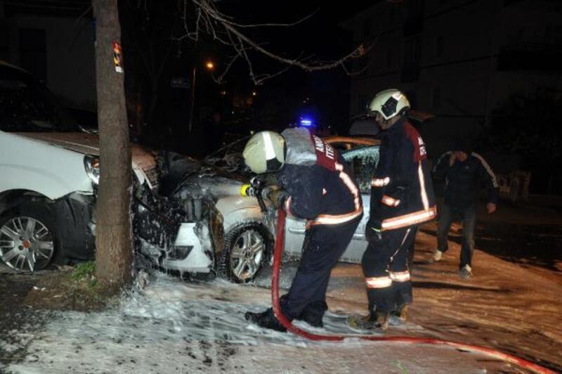 Başkent'te zincirleme trafik kazası: 1 yaralı