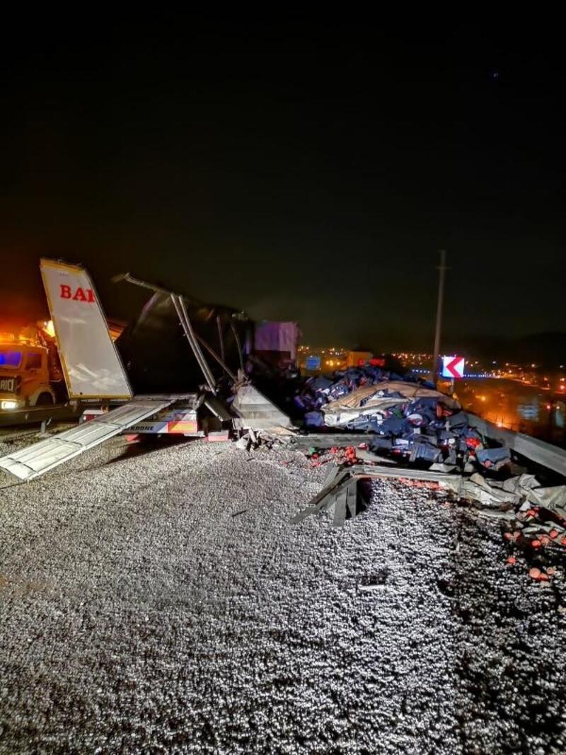 Korkuteli'nde kaza: 1 ölü