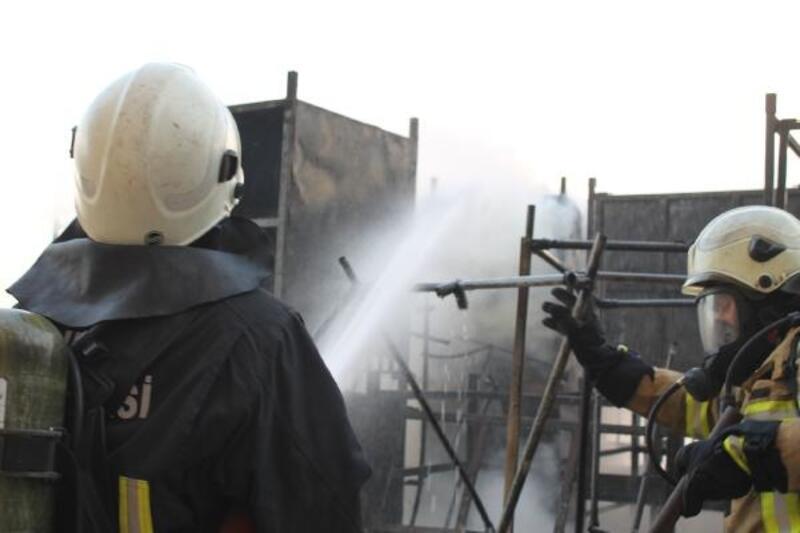 Otomotiv sektörüne koltuk üreten fabrikada yangın