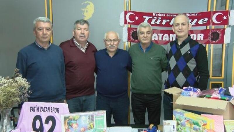 Fatih Vatanspor'dan Hakkari'ye destek