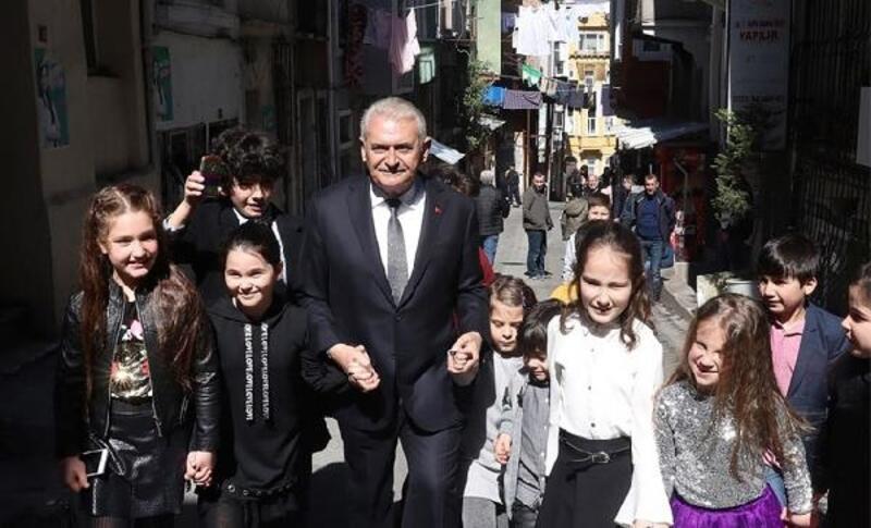 Yıldırım, İstanbul'u iki kez baştan başa yürüdü