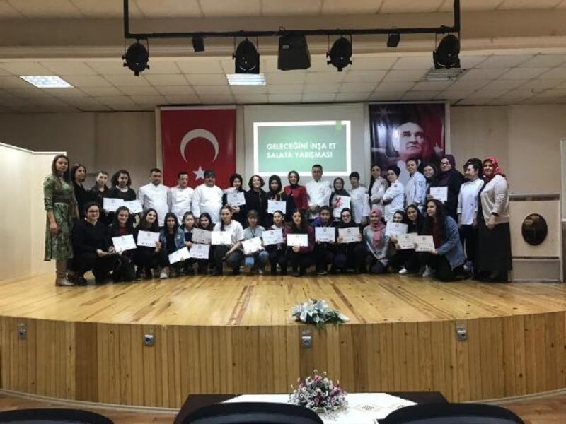 Samsun'da salata yarışması