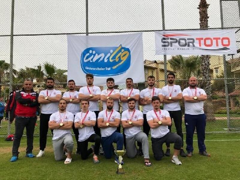 OMÜ Ragbi takımı Türkiye şampiyonu oldu