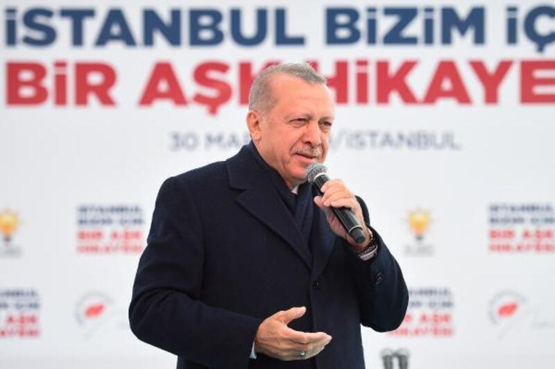 Cumhurbaşkanı Erdoğan Güngören'de konuştu
