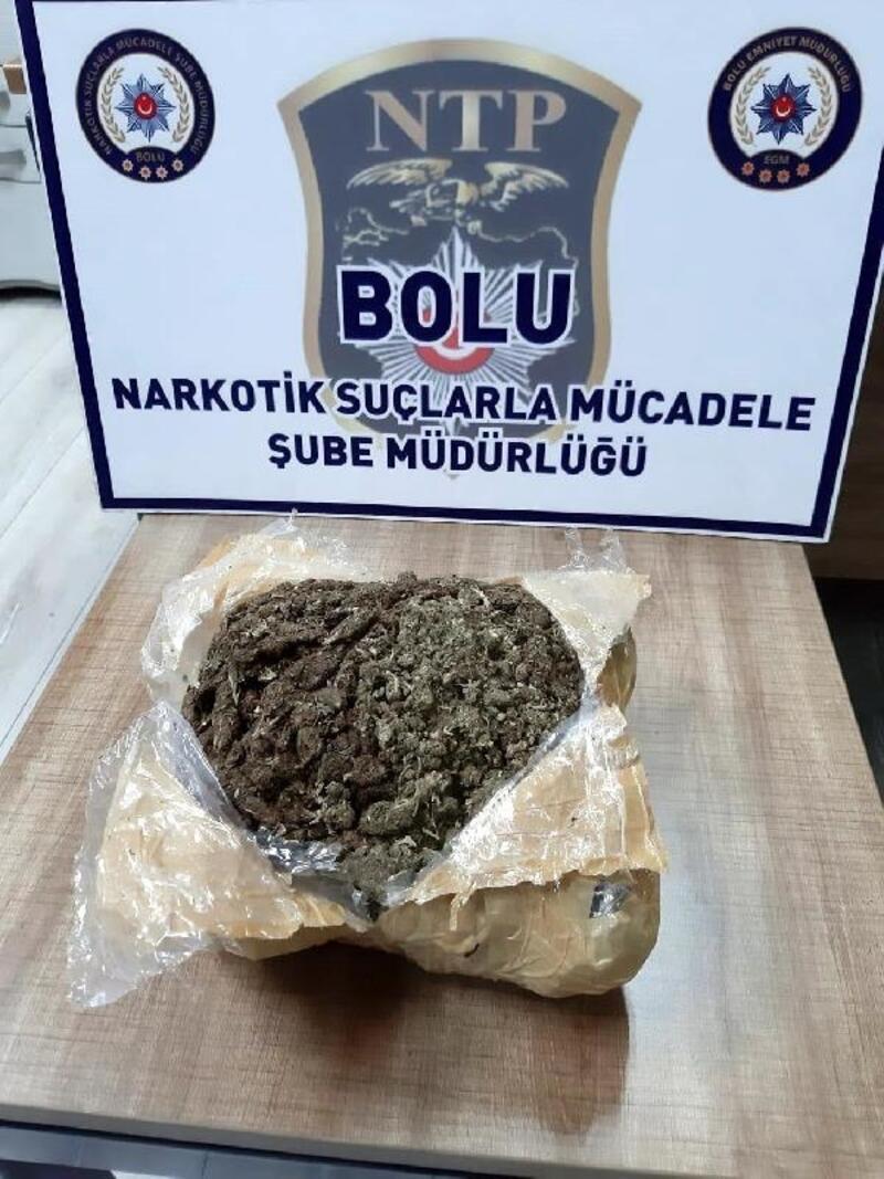Bolu'da 1 kilogram uyuşturucu ile yakalanan 2 kişi tutuklandı