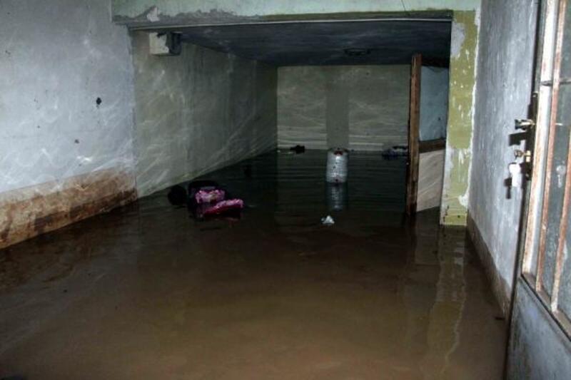 Gaziantep'te evleri su bastı