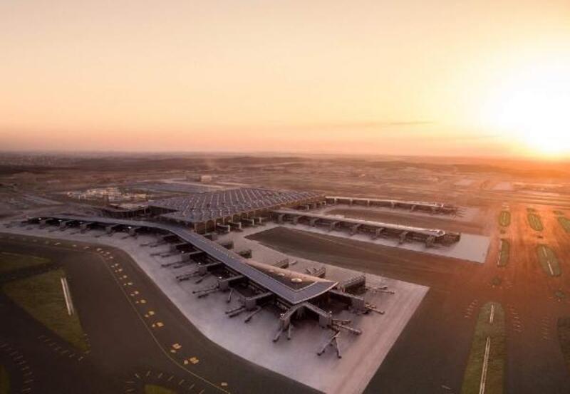 THY İstanbul Havalimanı'nda 405 bin yolcuyu geçti