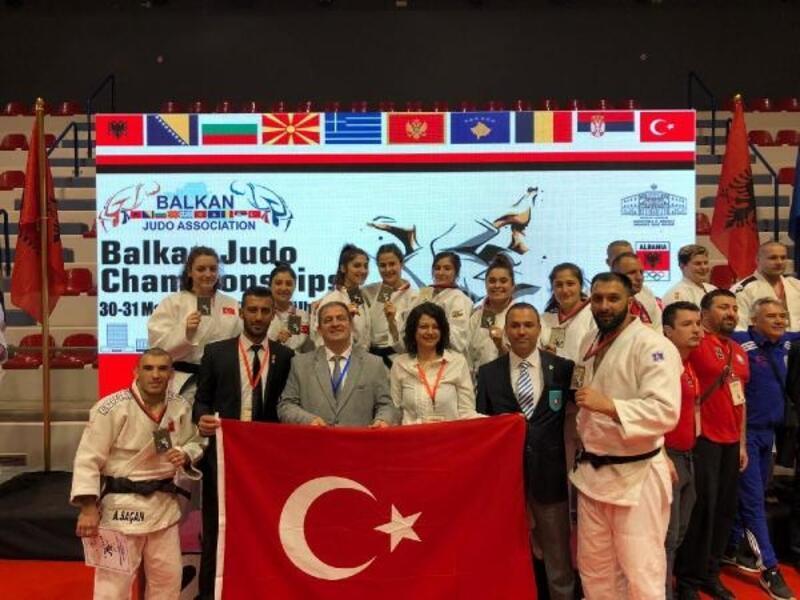 Türkiye, Büyükler Judo Balkan Şampiyonası'nda 3'üncü oldu