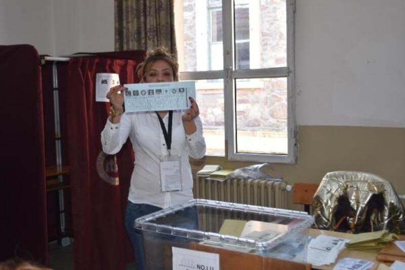 İzmir'de oy sayımına tepki