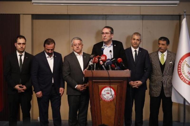 İYİ Parti heyeti, YSK Başkanı ile görüştü