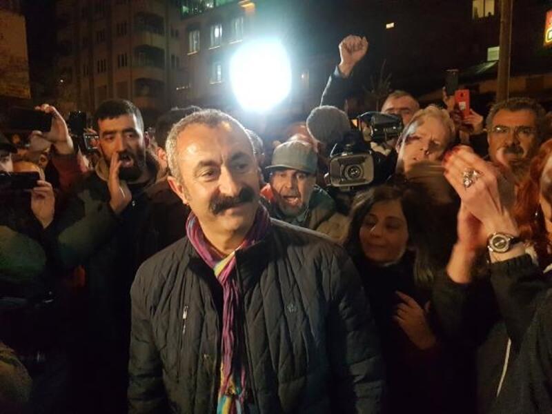 Tunceli'de Maçoğlu'ndan başkanlık kutlaması