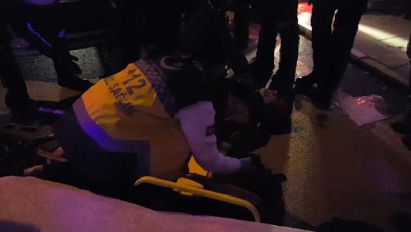 Samsun'da kaza: 2 Yunus polisi yaralandı