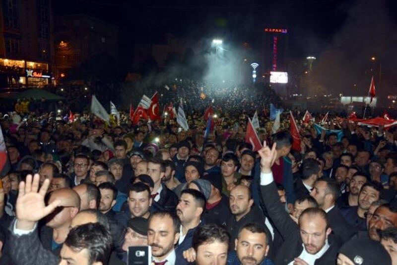 Kapaklı'da Cumhur İttifakı kazandı, kutlama yapıldı