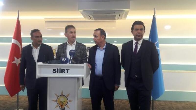 AK Parti'den Siirt'te seçim sonuçlarına itiraz