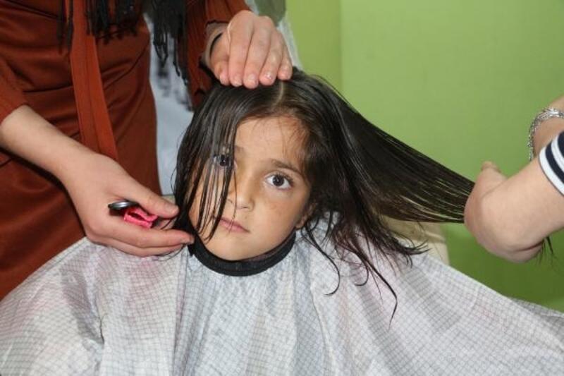 Silopi'de engellilere ücretsiz tıraş