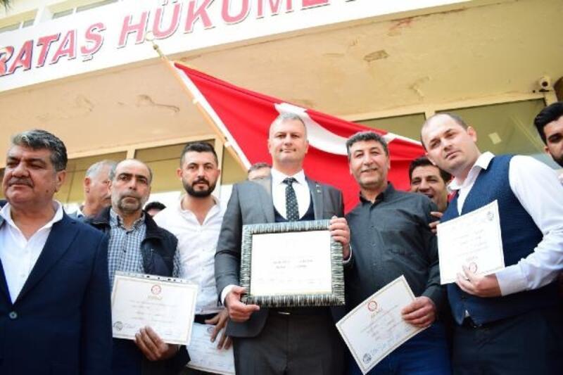Karataş Belediye Başkanı Necip Topuz göreve başladı