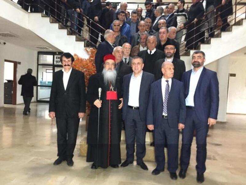 Süryani metropolitten, Midyat Belediye Başkanı seçilen Şahin'e ziyaret