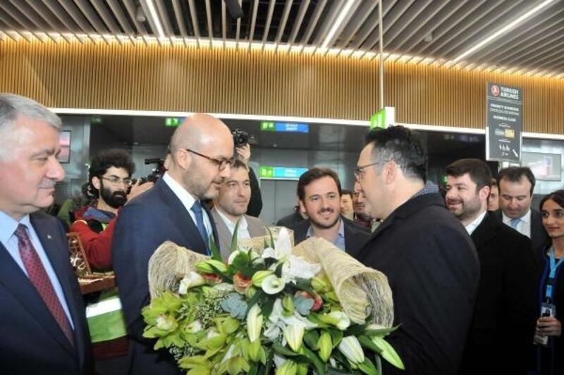 Taşınma sonrası ilk uçuş Ankara'ya yapıldı