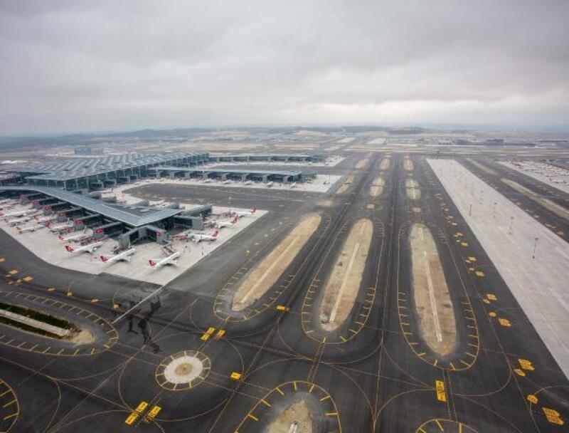 İstanbul Havalimanı taşınmadan sonrahavadan fotoğraflandı