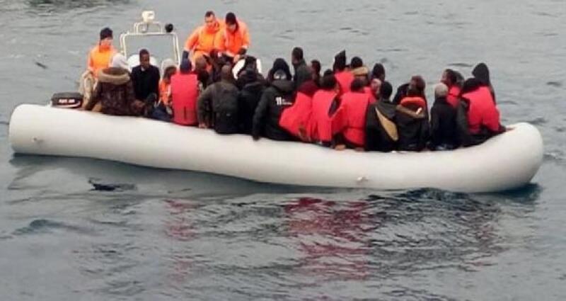 Kuşadası'nda 41 kaçak göçmen yakalandı