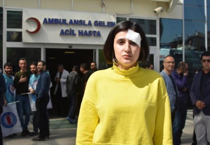Hemşirenin boğazını sıkıp kafa atan saldırgan hakkında tutuklama kararı
