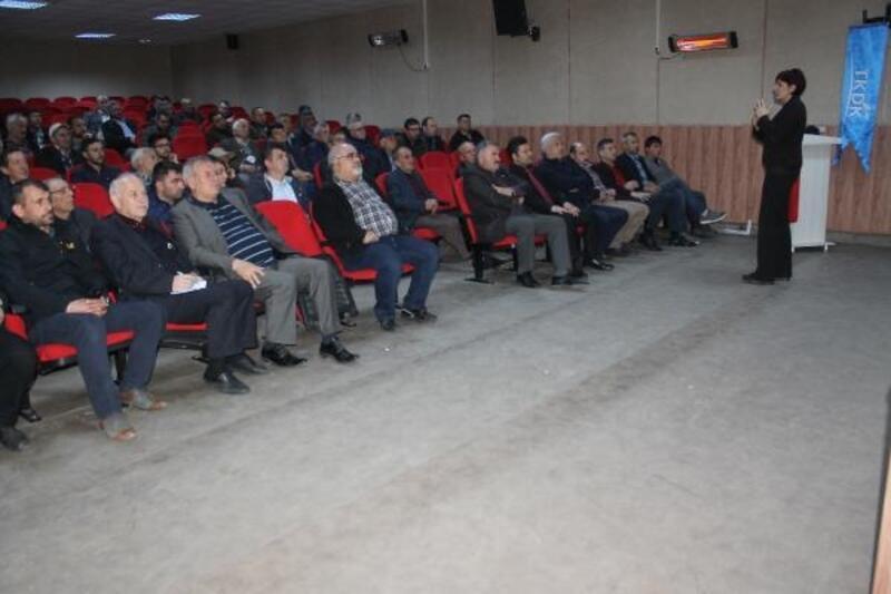 Manyaslı girişimcilere TKDK'dan bilgilendirme toplantısı