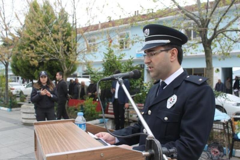 Polis Teşkilatının 174'üncü kuruluş yıldönümü Manyas'ta kutlandı