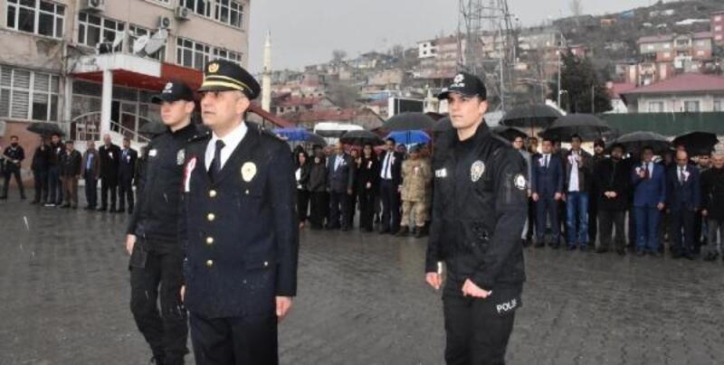 Beytüşşebap'ta Polis Haftası kutlandı