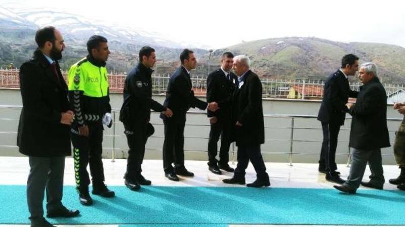 Çelikhan'da polis haftası kutlandı