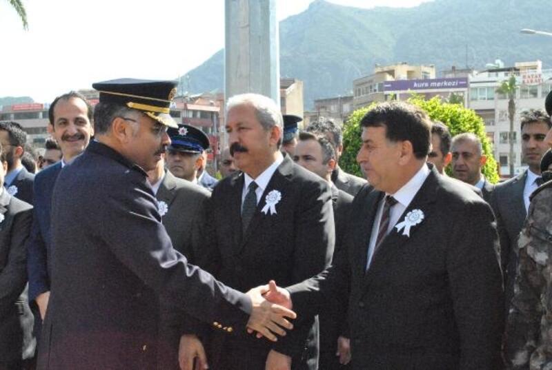 Hatay'da 10 Nisan Polis Günü kutlamaları