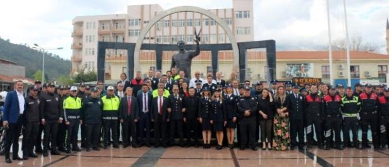 Kemer'de Polis Teşkilatı'nın kuruluşu kutlandı