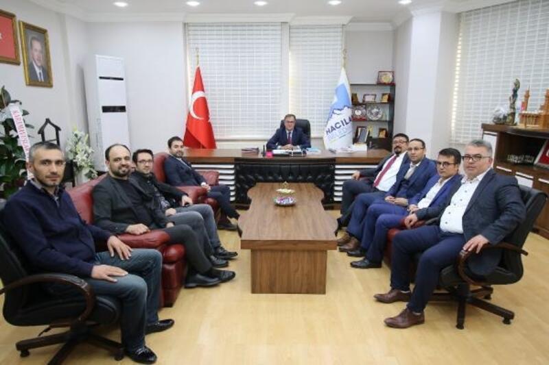 HAGİAD'dan Başkan Özdoğan'a ziyaret