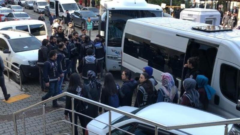 Zonguldak'ta, 23 FETÖ şüphelisi adliyede