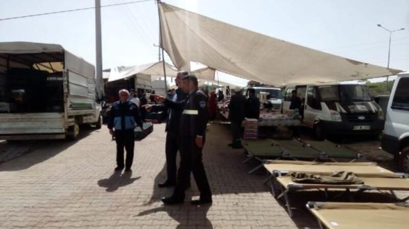 Midyat'ta 10 yıl sonra halk pazarı kuruldu