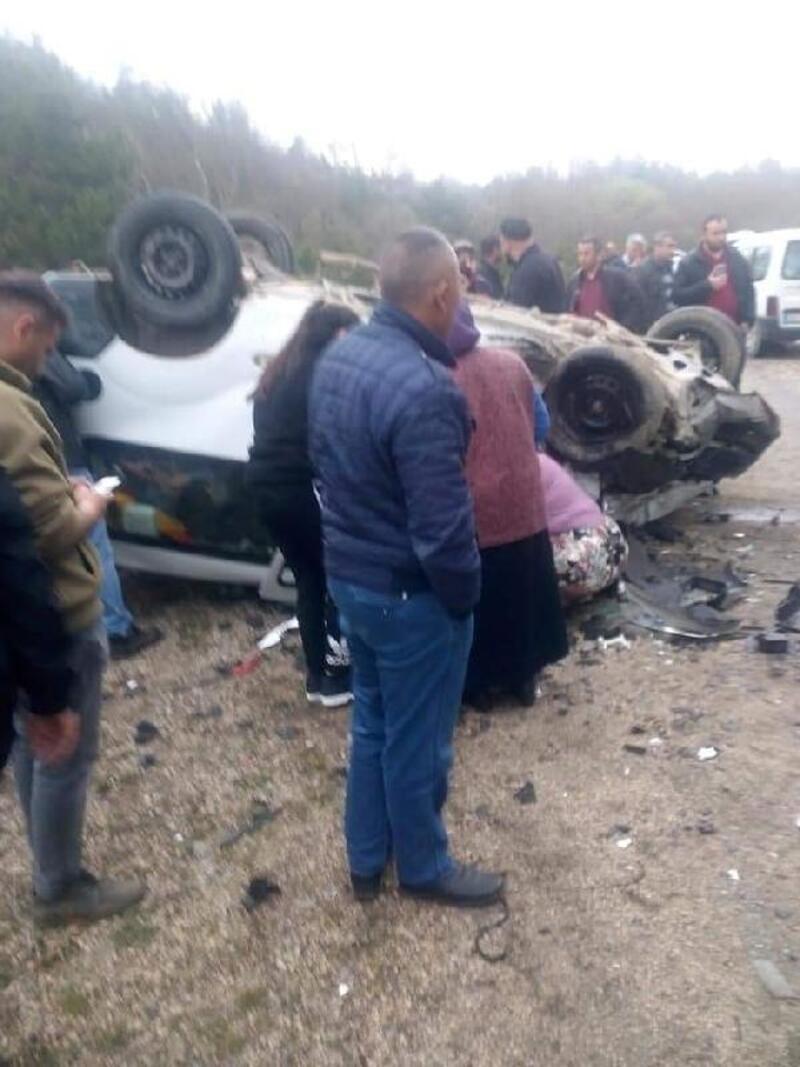Orhaneli'deki trafik kazasında ölü sayısı 3'e yükseldi