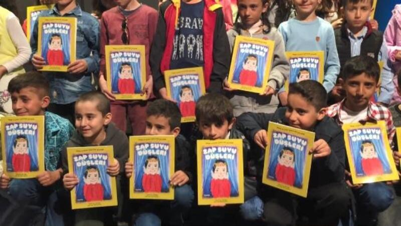 Çukurcalı 37 ilkokul öğrencisi kitap yazdı